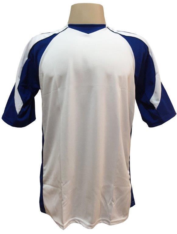 Jogo de Camisa com 10 peças modelo Madrid Branco Royal - Frete Grátis Brasil  + Brindes - Kanga sport R  235 e512d5831118f