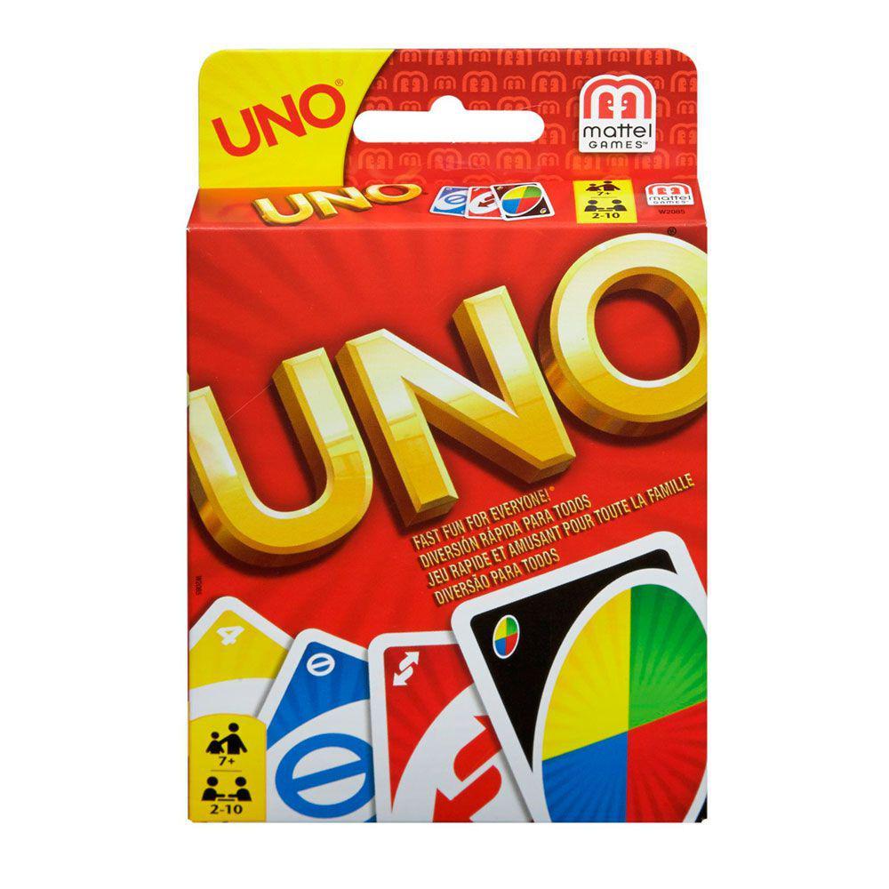 2f3b3976af Jogo de Cartas - Uno - Mattel - Outros Jogos - Magazine Luiza