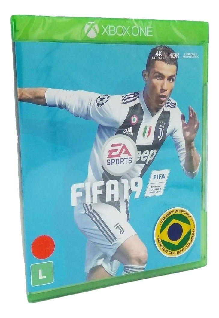2c21f7bd2b Jogo Fifa -19 Xbox One Em Português Mídia Física Original - Eletronic arts  Produto não disponível