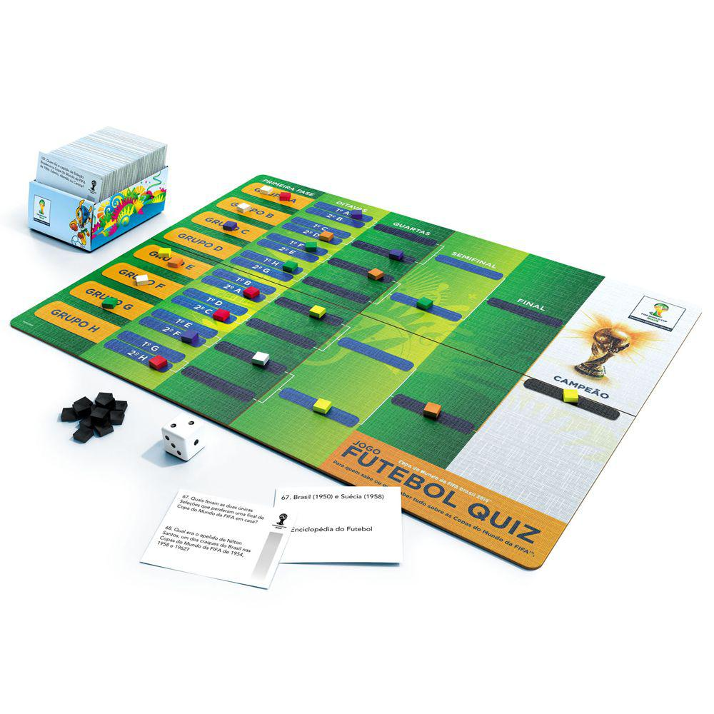 Jogo Futebol Quiz - Grow - Outros Jogos - Magazine Luiza 07625c4bb1417