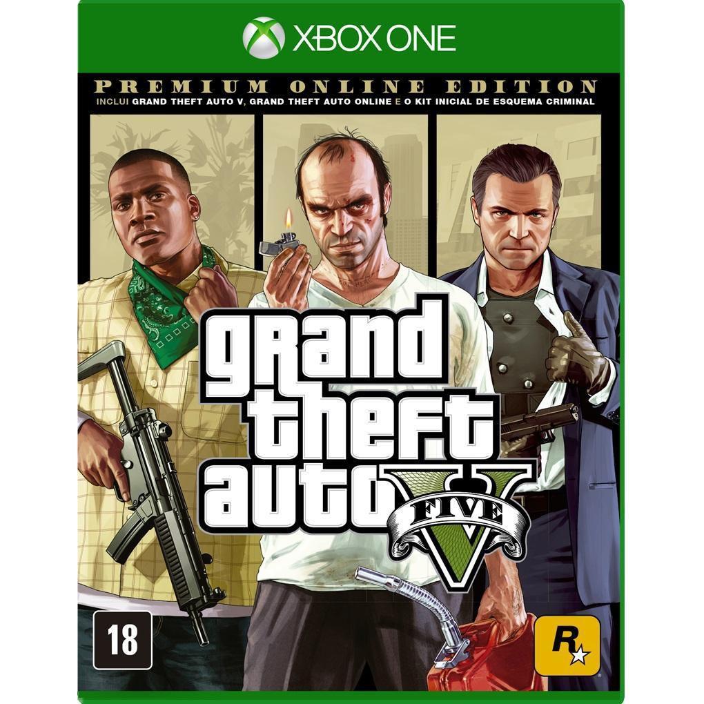Jogo Gta V Premium Online Edition Xbox One Rockstar Games Jogos De Acao Magazine Luiza