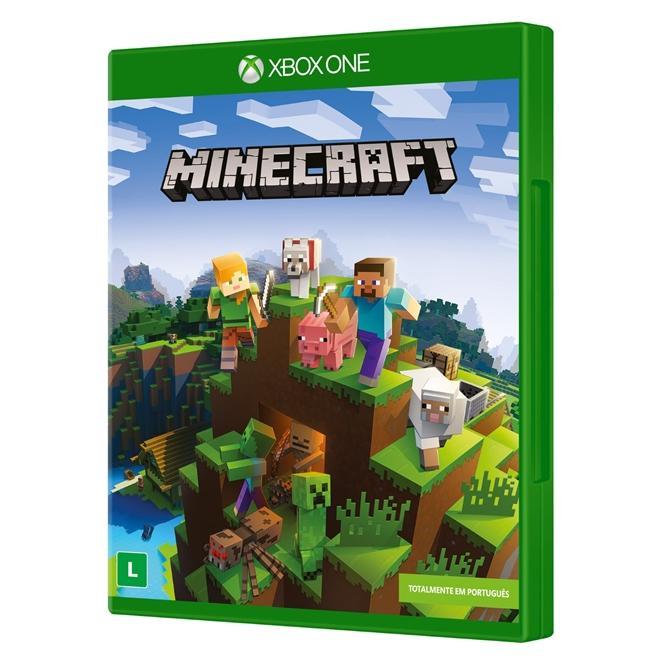 6ad0b2cd12209 Jogo minecraft - xbox one - Microsoft - Jogo Minecraft - Magazine Luiza