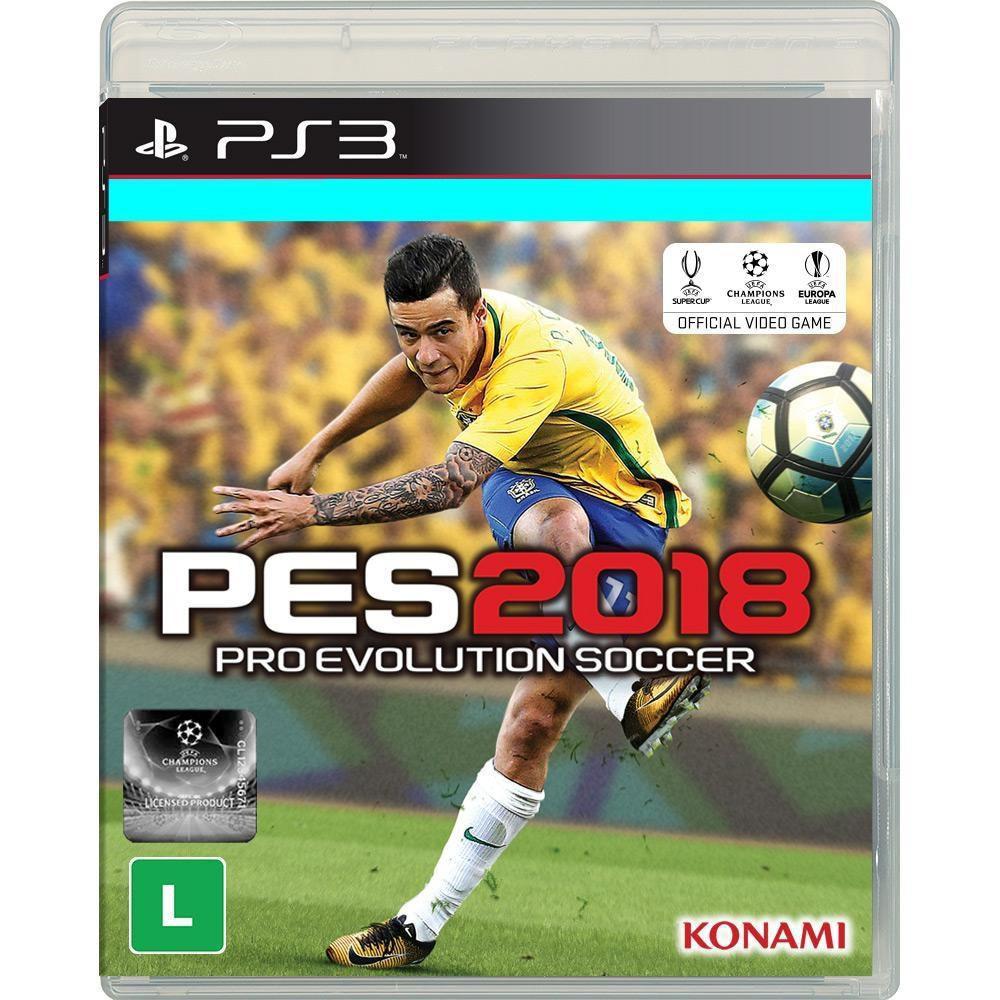 2b8ea8833 Jogo PES 2018 Pro Evolution Soccer 2018 PS3 - Konami Produto não disponível