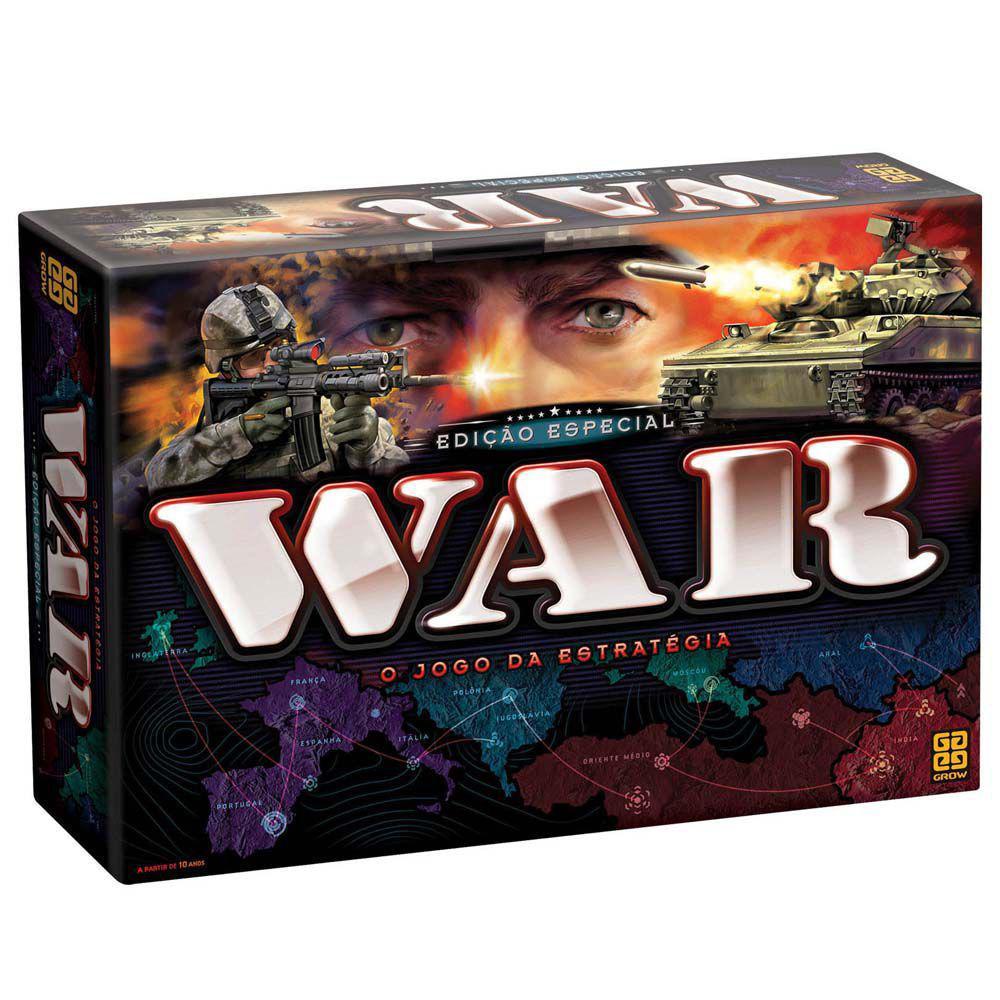 Jogo War Edicao Especial Grow 01253 Jogos De Tabuleiro Magazine Luiza