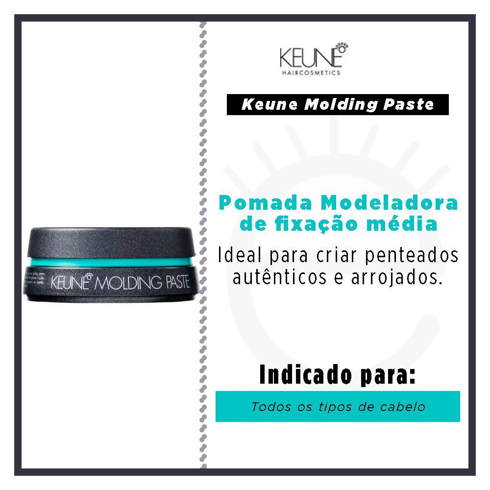6b1b626c3 Keune Molding Paste - Pomada - Cabelo e maquiagem - Magazine Luiza