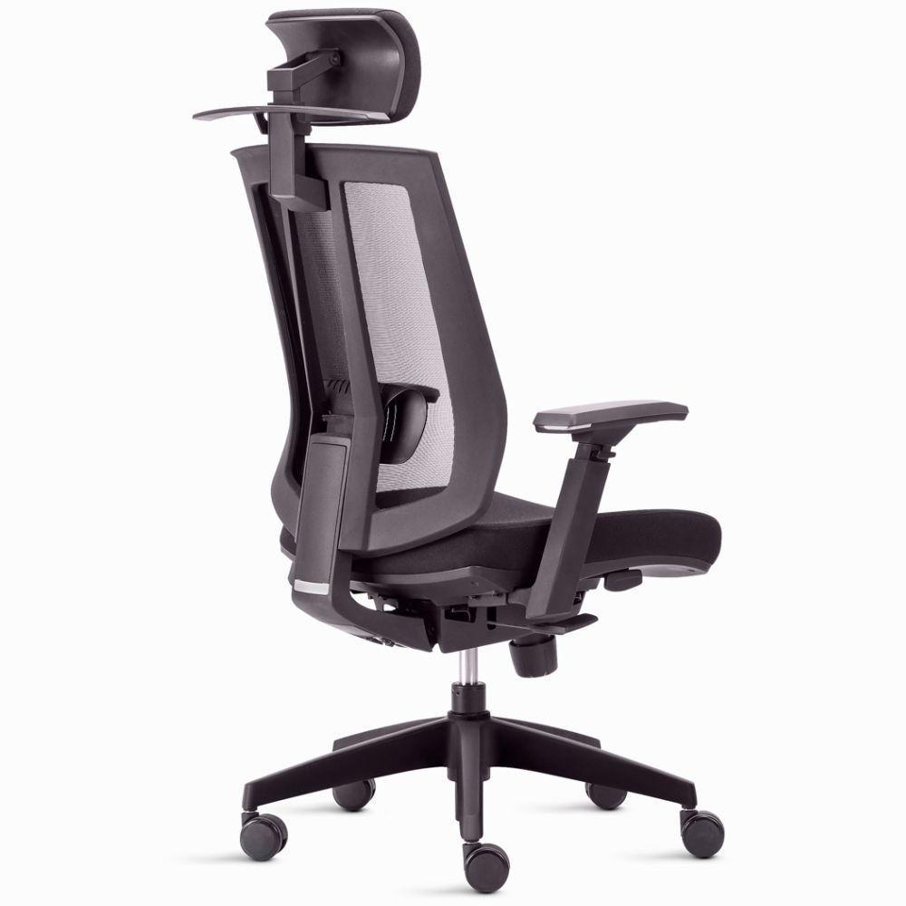 da69b0399 Kit 02 Cadeiras de Escritório Giratória Presidente Executiva Song Preto - Lyam  Decor - Lymdecor R$ 3.419,90 à vista. Adicionar à sacola
