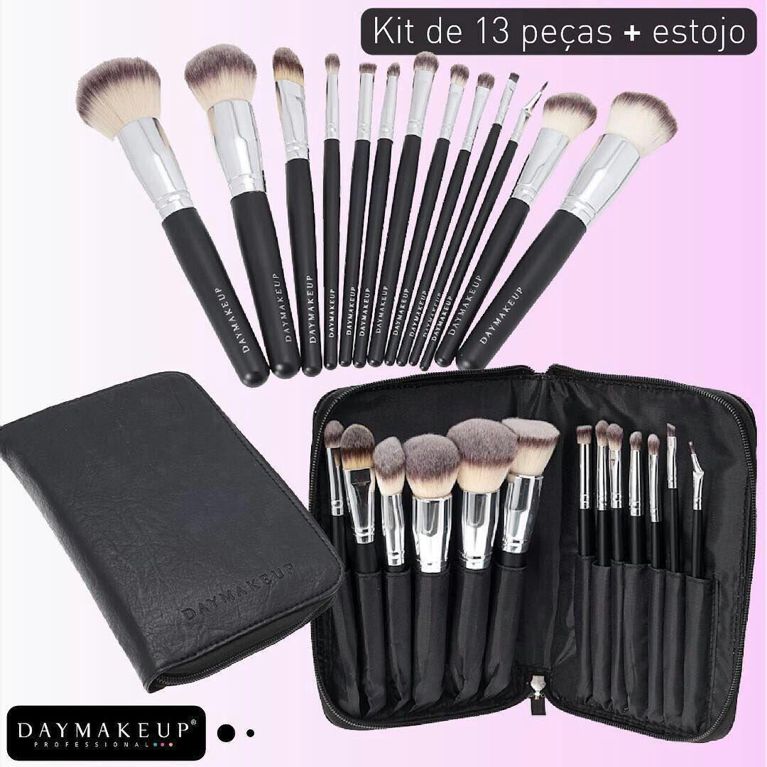 Kit 13 pincéis maquiagem Daymakeup R  334,00 à vista. Adicionar à sacola 7e922f005e