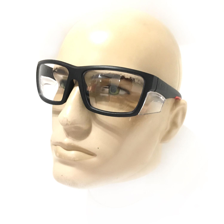 2eace79a7f6a8 KIT 2 ARMAÇÃO Óculos Proteção Ssrx Ideal APLICAÇÃO DE LENTE DE GRAU  RESISTENTE IMPACTO TRABALHOS QUE NECESSITAM DE ÓCUL - Supersafety R  57