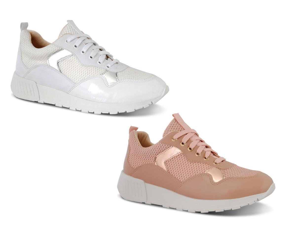 1de17d48d49d8 Kit 2 Pares Tênis Feminino Prime Shoes Jogger Sneaker Chunky R$ 119,90 à  vista. Adicionar à sacola