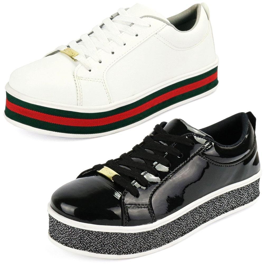 Kit Sapatenis Confort Flatform CR Shoes Branco E Preto