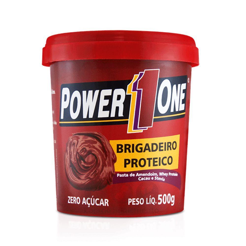 27b541169 Kit 20 Unidades Pasta De Amendoim Power 1 One - (sabores) - Power one R   335