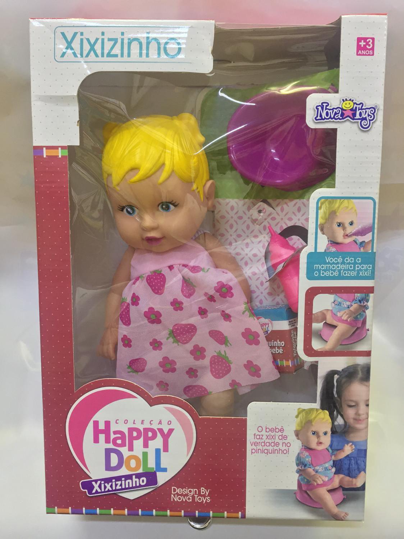 38723c2207 KIT 3 Bonecas Doutora + Xixizinho + Papinha - Nova Toys Produto não  disponível
