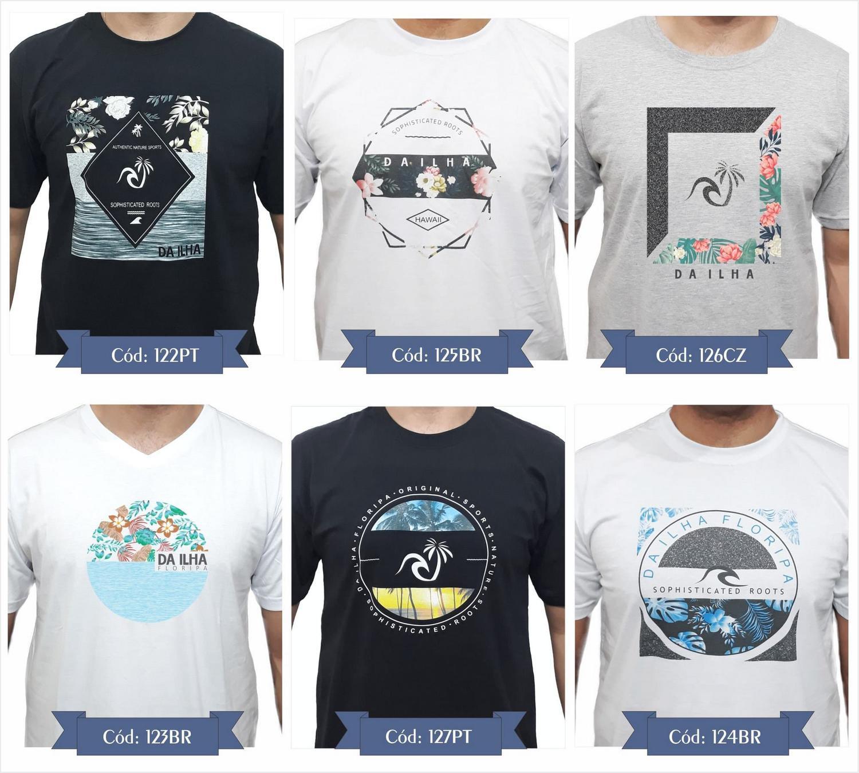 Kit 3 Camiseta Original Camisas Promoção Combo Top Qualidade - Da ilha  floripa R  139 e036bb6f358de