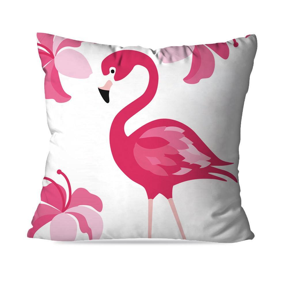 71c49f73e Kit 4 Almofadas Decorativa Flamingo Rayé - Love decor - Almofada ...