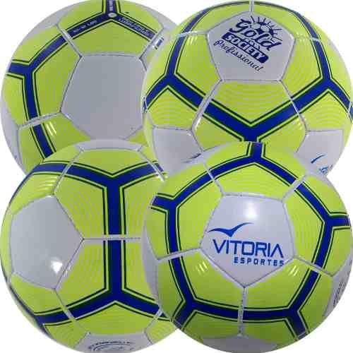 59f684ee9 Kit 4 Bola Futebol Sete Society Profissional Adulto Oficial - Vitoria  esportes R  259