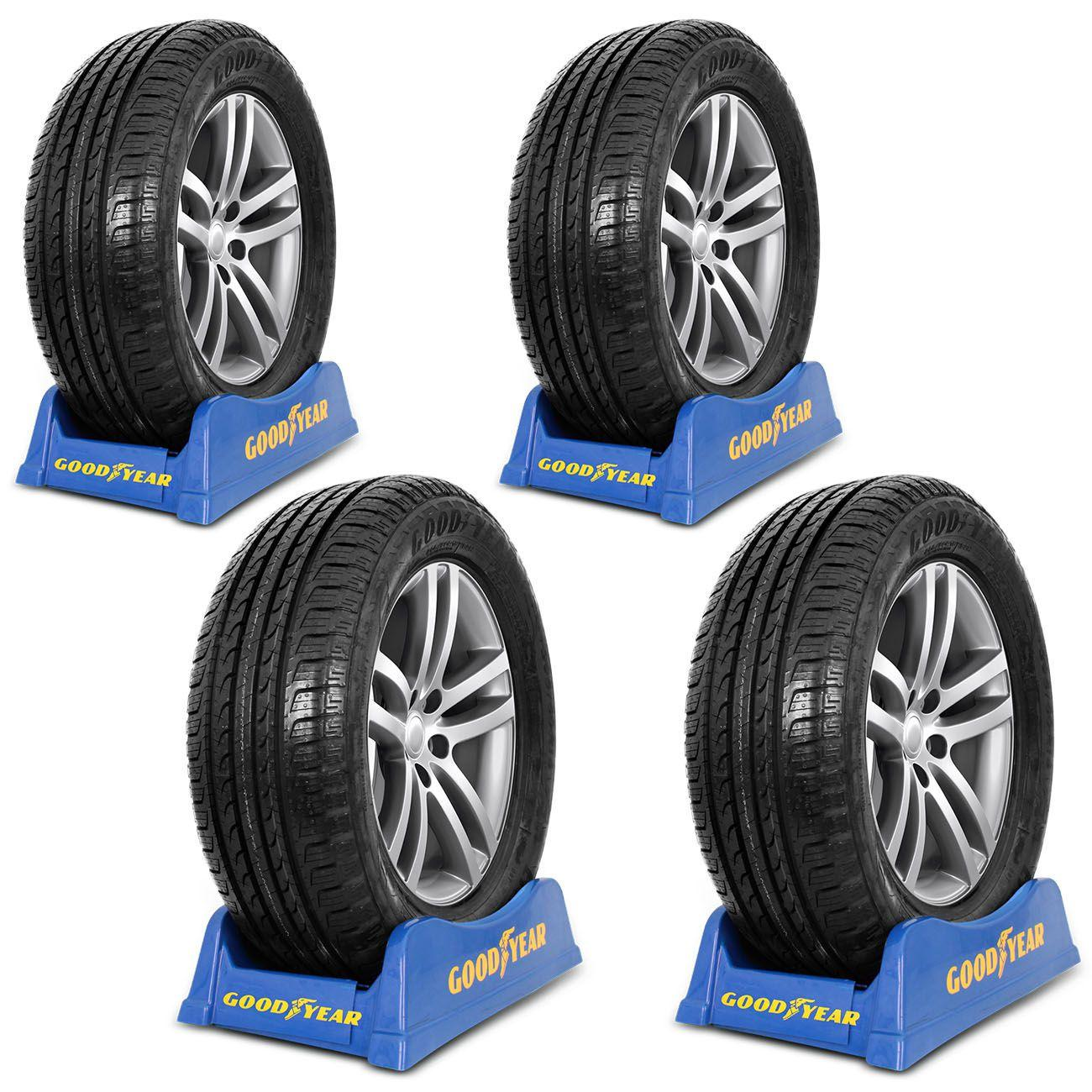 kit 4 unidades pneu aro 16 goodyear efficientgrip suv 205 60 r16 92h pneus carros aro 16. Black Bedroom Furniture Sets. Home Design Ideas
