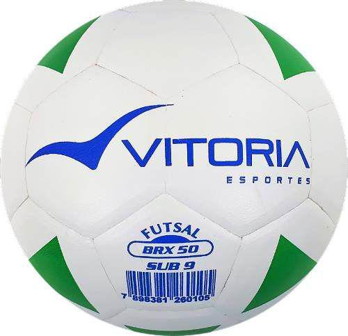 Kit 5 Bolas Futsal Vitoria Brx Max 50 Sub 9 Pré Mirim - Vitoria esportes R   219 0e422c6d39b13