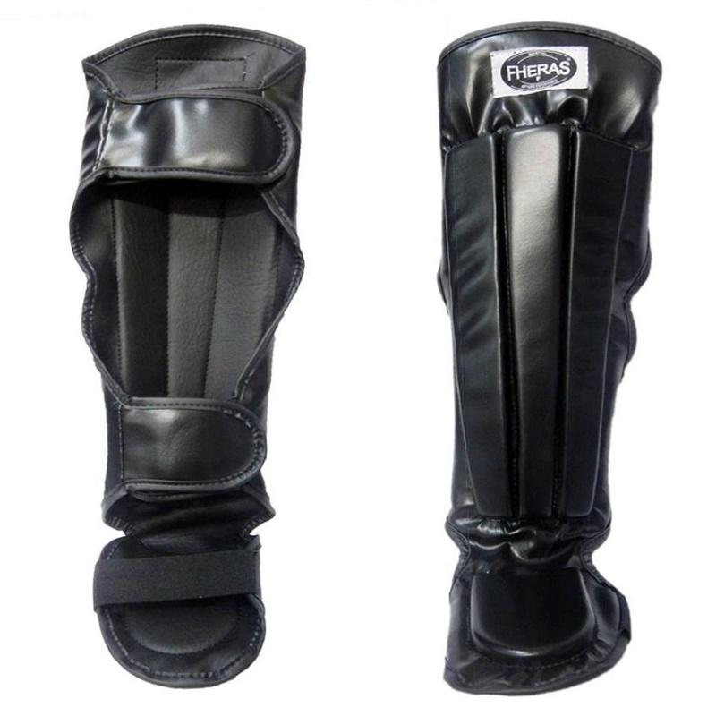 8d29736c1 Kit Boxe Muay Thai Oríon - Luva Bandagem Bucal Caneleira - Preto Vermelho -  Fheras R  214