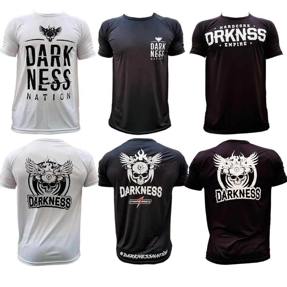 033e6166d6 Kit Camiseta Darkness Branca Preto Nation - Integralmedica - Integral medica  R  139