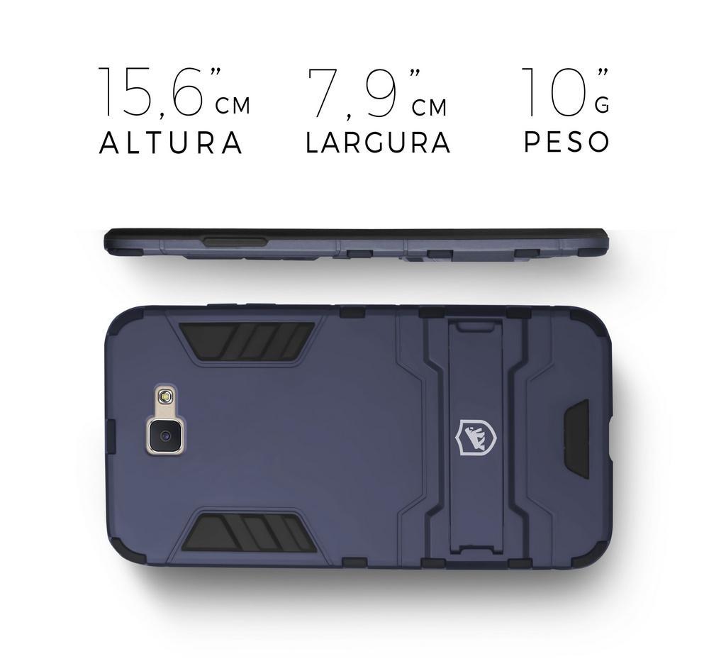 0574e563b6a Kit Capa Armor e Película de vidro dupla para Samsung Galaxy J7 Prime - Gorila  Shield R$ 119,99 à vista. Adicionar à sacola