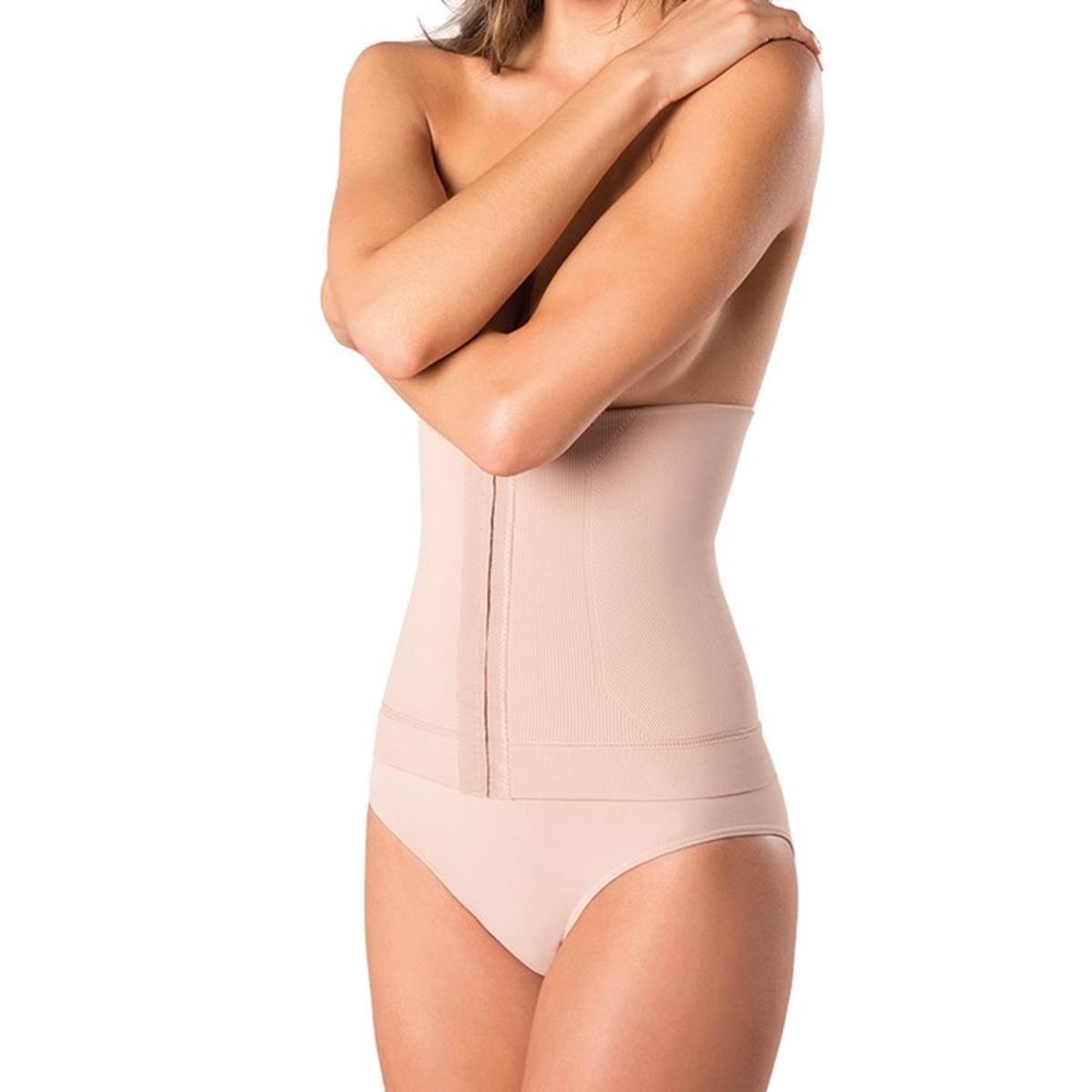 b2d00c1b5 Kit com Cinta Loba Slim e Calcinha Loba Redutora Nude Slim - Lupo R  84