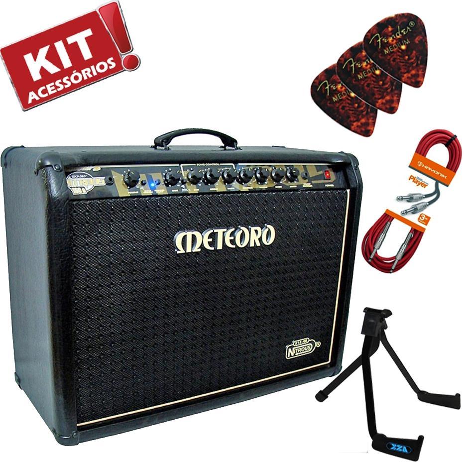 Kit Cubo Amplificador Guitarra GS160 Pre Valvulado Meteoro + Acessórios R   1.997,90 à vista. Adicionar à sacola dafdb7f8f0