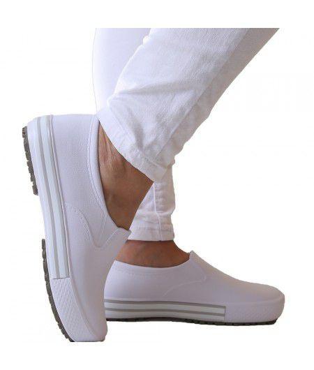 da172b3fe Kit Enfermagem: Aparelho de Pressão com Estetoscópio Rappaport Preto Premium  + Sapato Branco + Garrote JRMED + Bolsa - Várias R$ 214,00 à vista