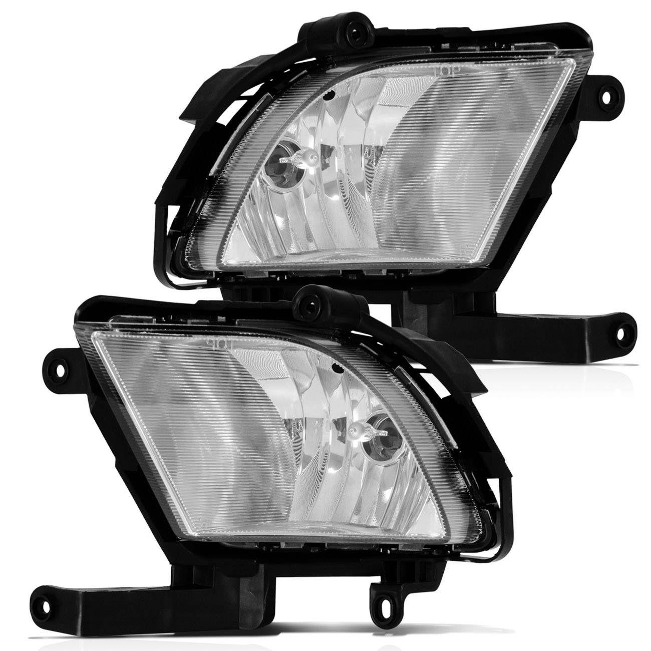 73ae47ec83 Kit Farol Milha Cerato 09 a 12 Auxiliar Neblina + Par Lâmpadas Super LED  H27 Efeito Xenon - Prime Produto não disponível