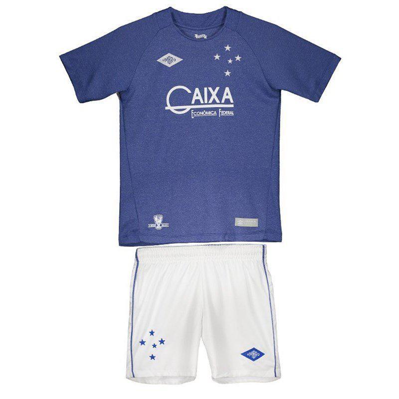 dd78e46e0c Kit Infantil Cruzeiro Umbro Oficial 3 2016 - Futebol - Magazine Luiza