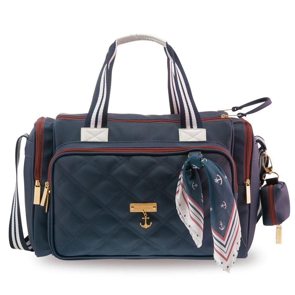 8a5e4fa51 Kit Maternidade - Mala de Rodinha - Bolsa Anne e Frasqueira - Coleção Navy  - Marinho - Masterbag R$ 1.143,76 à vista. Adicionar à sacola