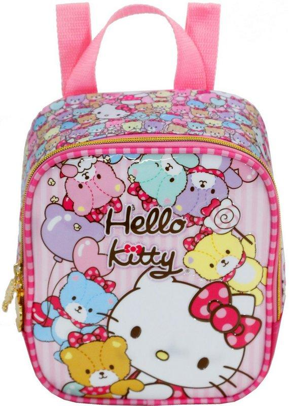 b41e2b58b Kit Mochila com Rodinhas Hello Kitty Tiny Bears Lancheira e Estojo - Xeryus  R$ 355,84 à vista. Adicionar à sacola
