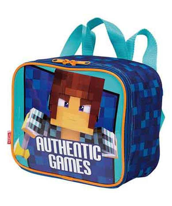 Kit Mochila Escolar de Rodinha Authentic Games 19m e Lancheira - Sestini  mochilas Produto não disponível dc9289a436fc