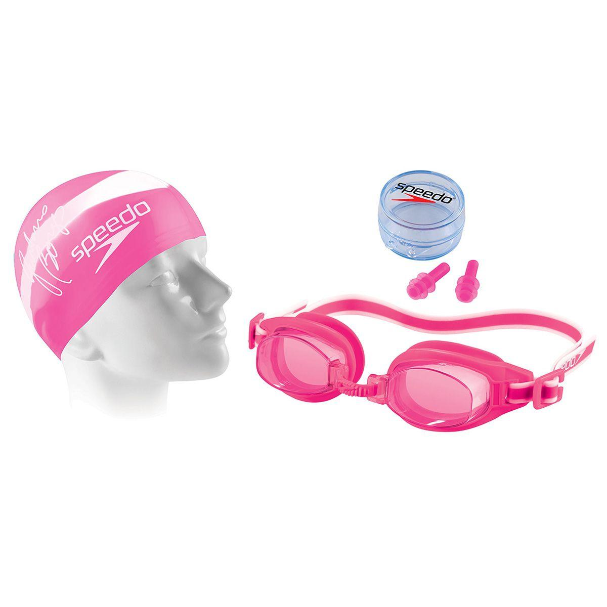 Kit Óculos Touca E Protetor De Ouvido 3.0 Swim Rosa U Speedo R  38,90 à  vista. Adicionar à sacola c2bdd3019b