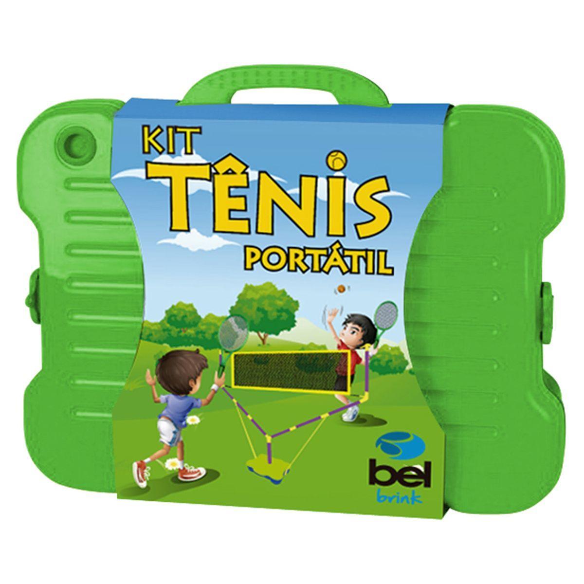 Kit Para Jogo De Tênis Com Rede E Bola Bel Brink Produto não disponível f99bf3bfd328c