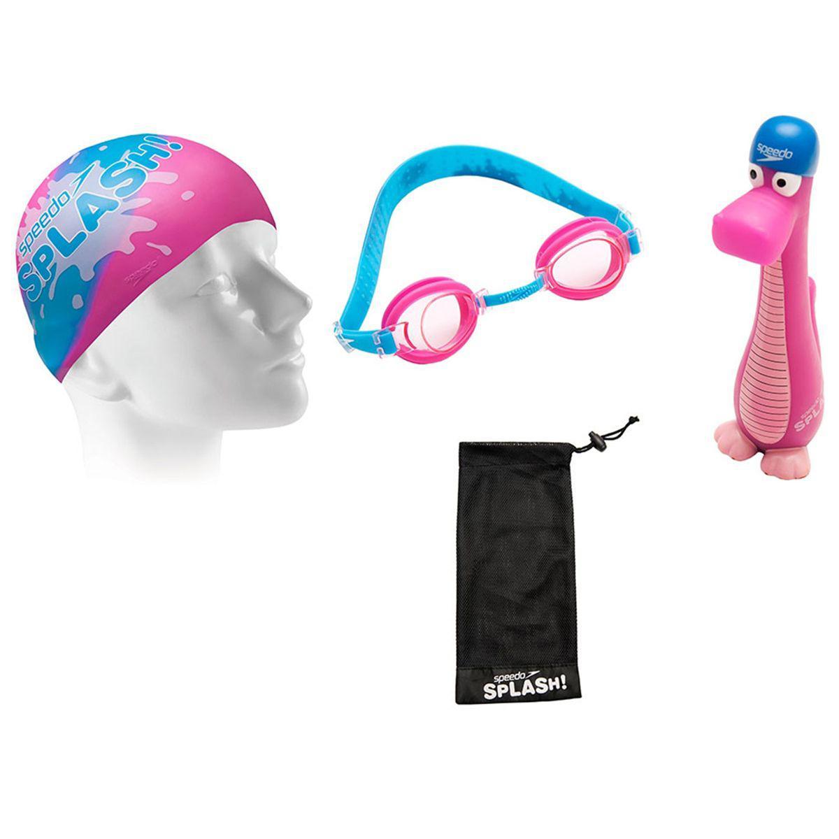 3885798c8 Kit Para Natação Splash Infantil Rosa U Speedo R$ 49,90 à vista. Adicionar  à sacola