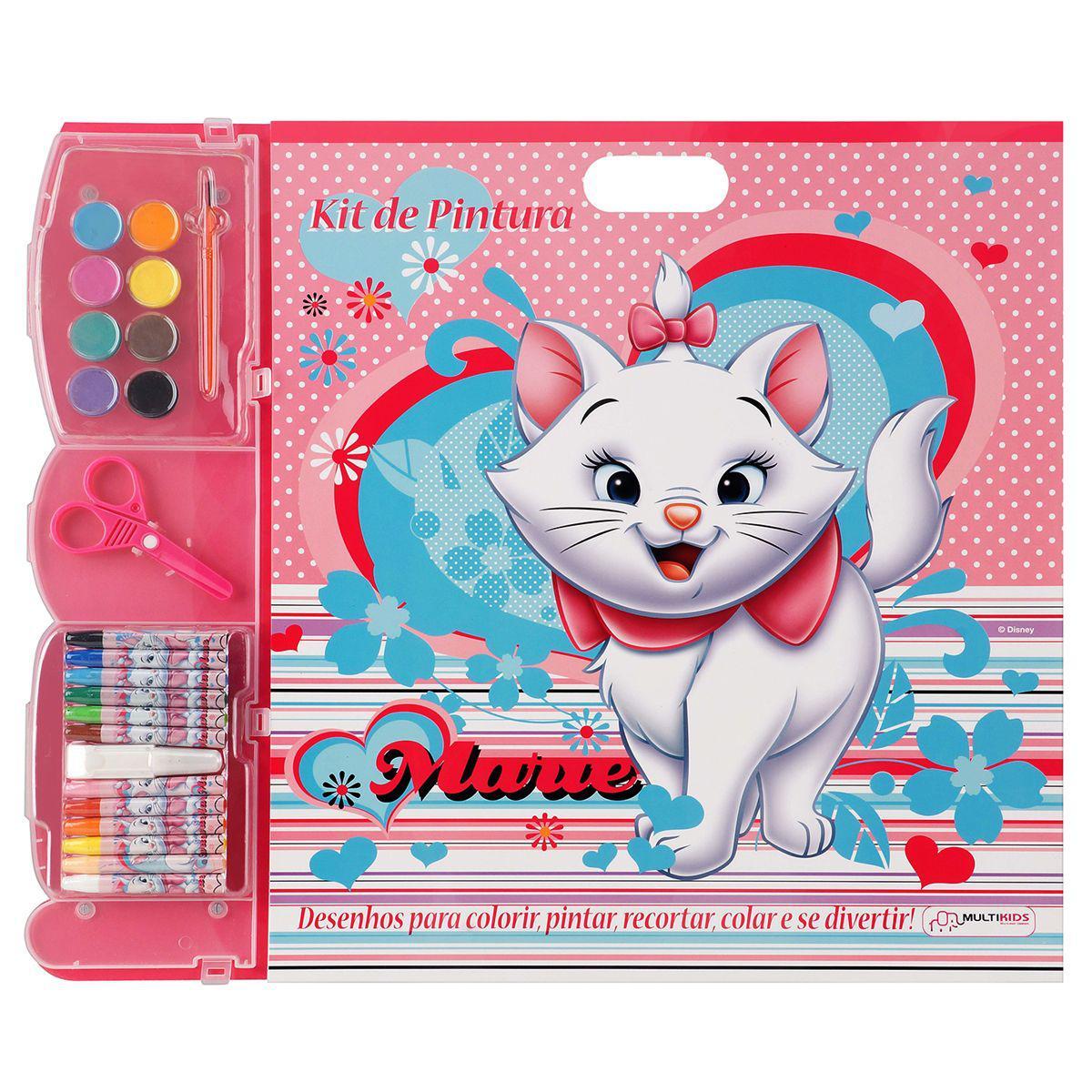 Kit Para Pintar E Colorir Marie Br064 Multikids Kit De Colorir