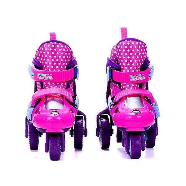257fcad57c4 Kit Patins Infantil 31 ao 34 - Princesinha Anne - Unik Toys R  269