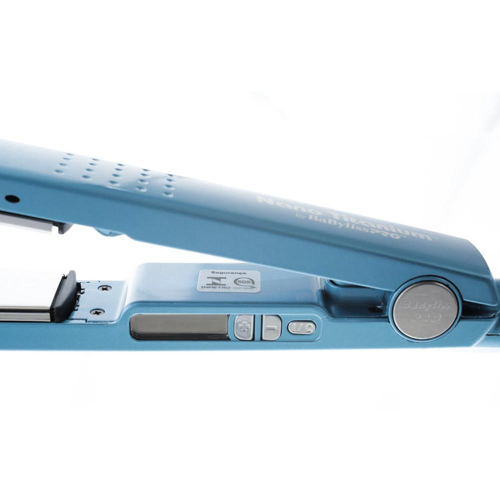2d49887be Kit Prancha BabyLiss Pro Nano Titanium TRADICIONAL R$ 389,00 à vista.  Adicionar à sacola