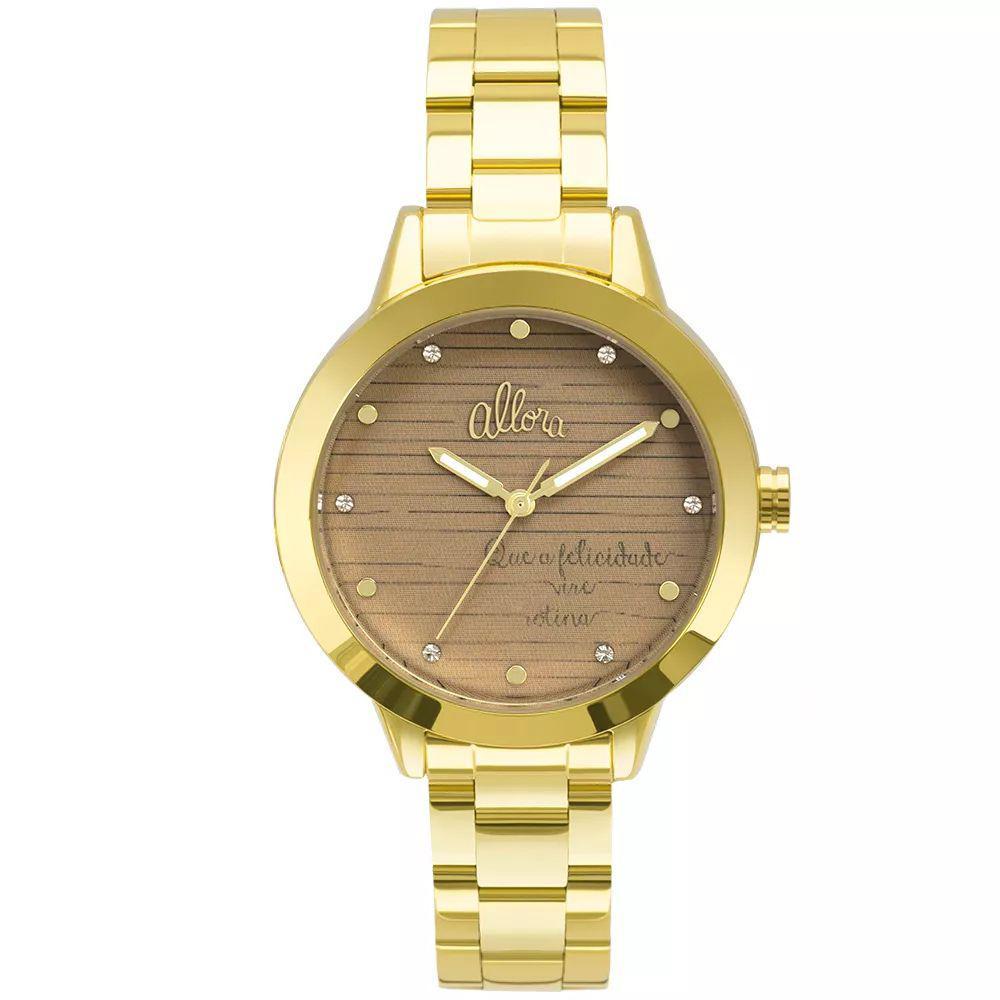 c992ac07fdf Kit Relógio Allora Feminino AL2036FLV K4M Com Semijóia Produto não  disponível
