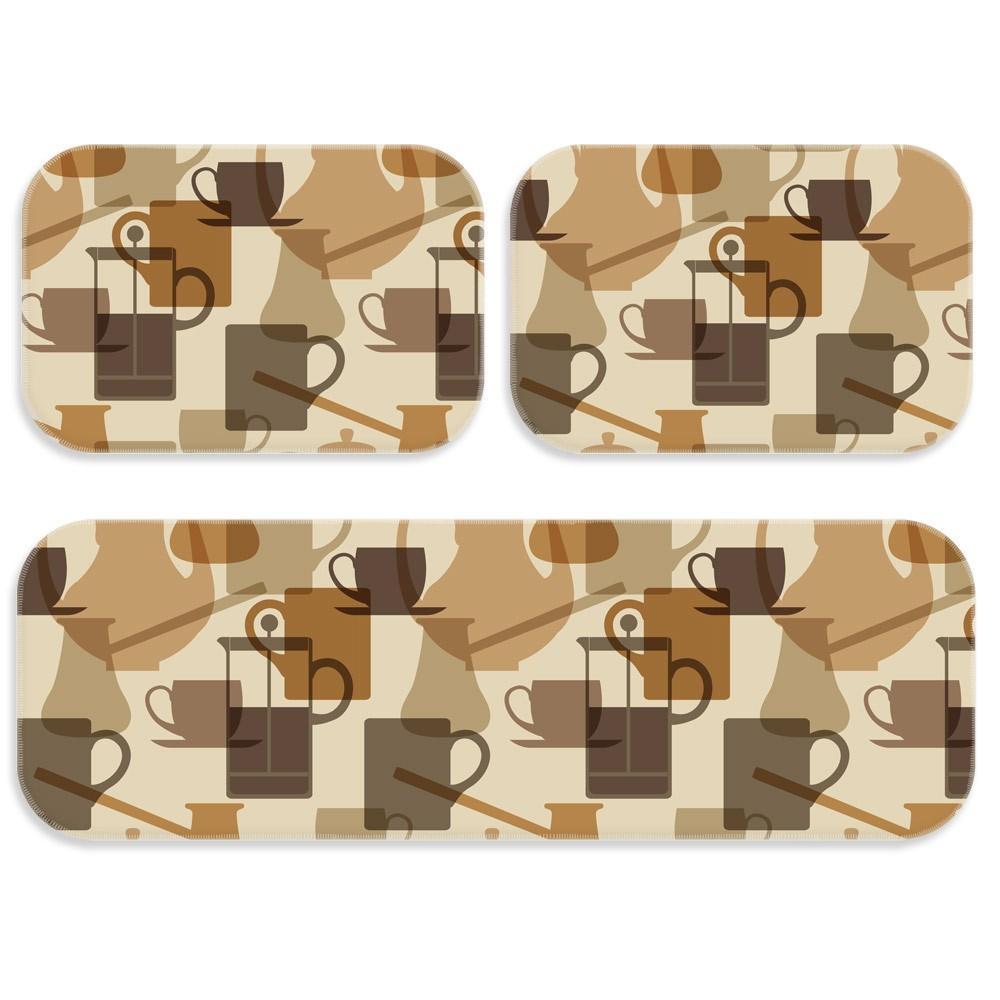 3257a354c Kit Tapete de Cozinha Café Master - Love decor - Tapete para Cozinha ...