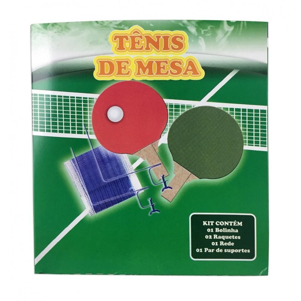 b8f8bfe8c Kit Tênis de Mesa MDF Ahead Sports Ast218 - Ping Pong - Magazine Luiza