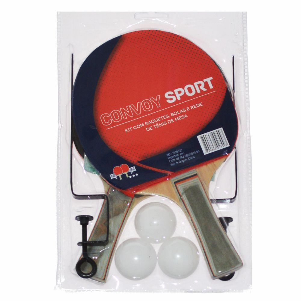 17af32cf8 kit tênis de mesa para 2 jogadores Raquetes