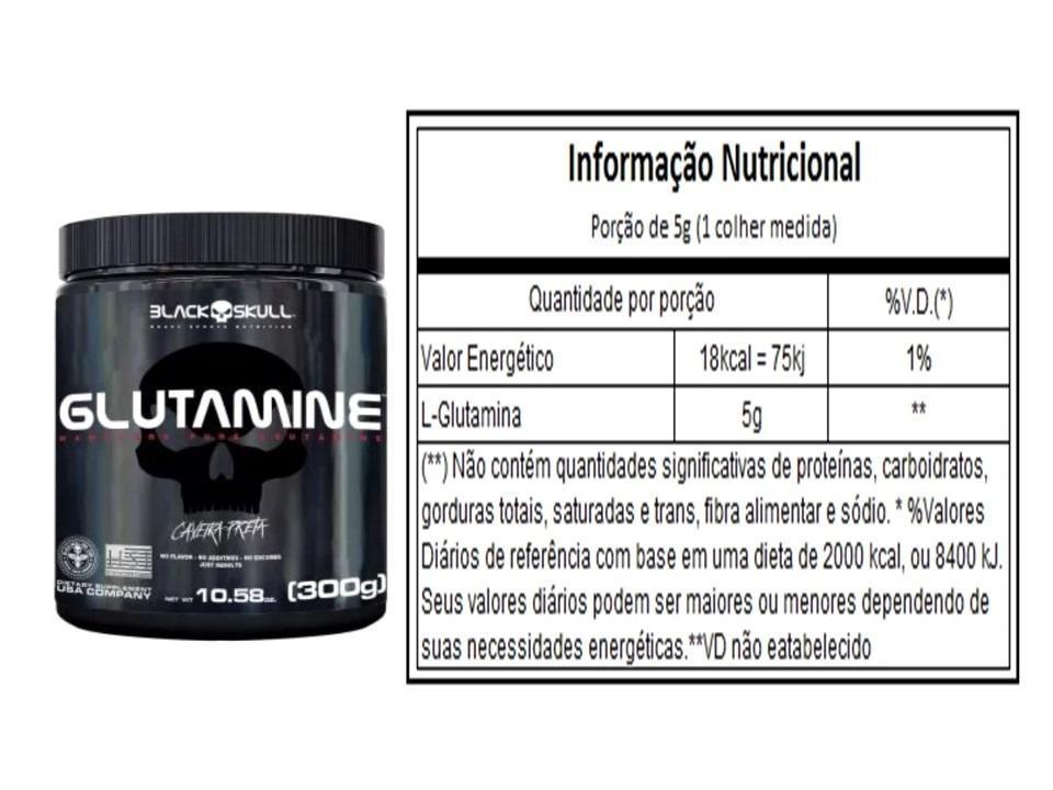08d01f666 Kit Whey 3hd + Creatina + Glutamina + Bcaa - Black Skull - - Geral R   199