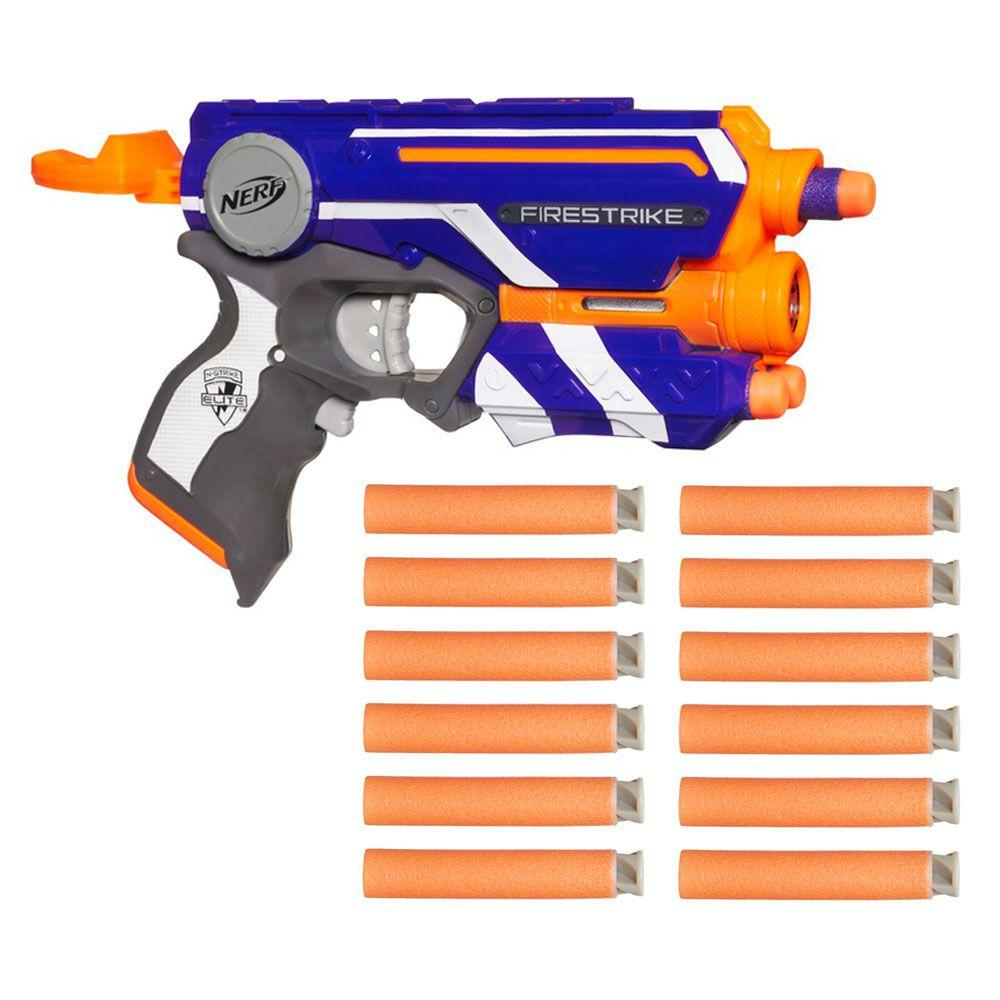 0866fa2113 Lançador Nerf e Refil com 12 Dardos Accustrike - N-Strike Elite -  Firestryke - Hasbro R  69