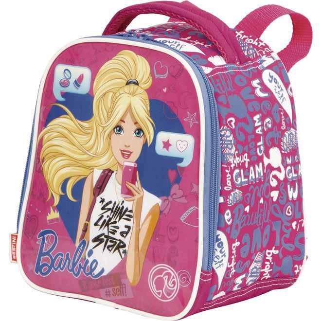 9bb1b76fe Lancheira Infantil Grande Barbie 17X - Sestini R$ 79,90 à vista. Adicionar  à sacola
