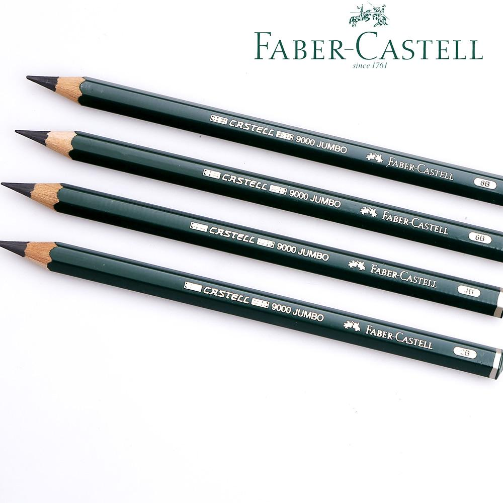 cf966e501f Lápis Grafite Jumbo Faber-Castell Castell Jumbo 9000 4B 119304 - Faber  castell R  99.999