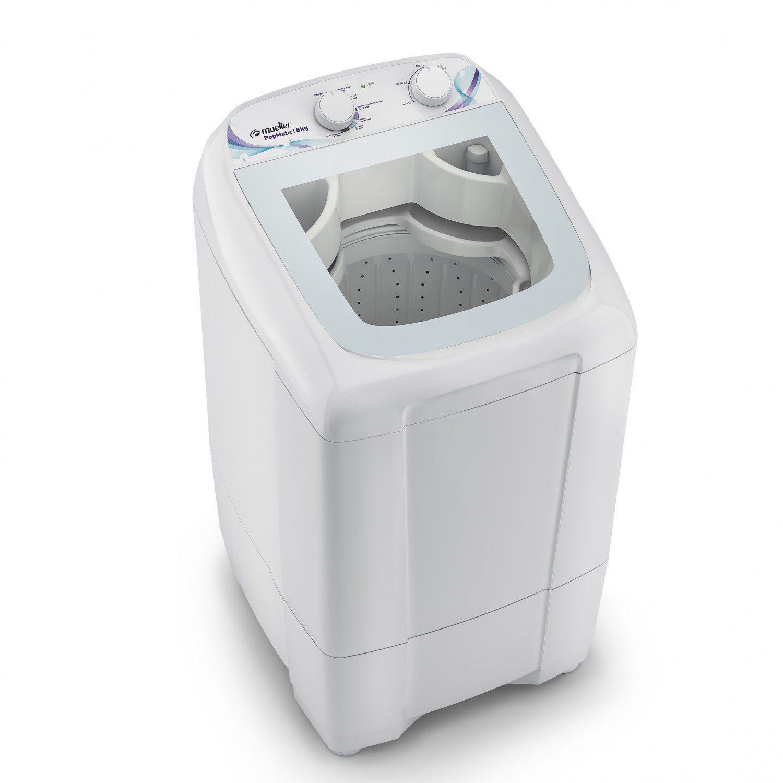 Lavadora Automática 8kg Popmatic Mueller 127V Branco - - Máquina de ...