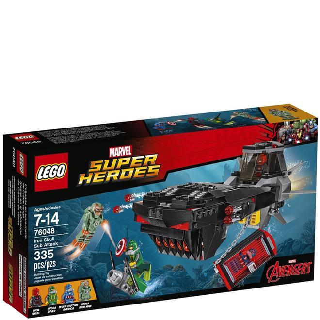 00982c3142b0b Lego Marvel Ataque de Submarino Caveira de Ferro 76048 LEGO Produto não  disponível