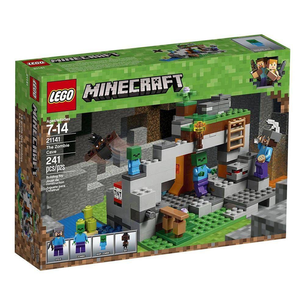 Lego Minecraft - A Caverna do Zombie