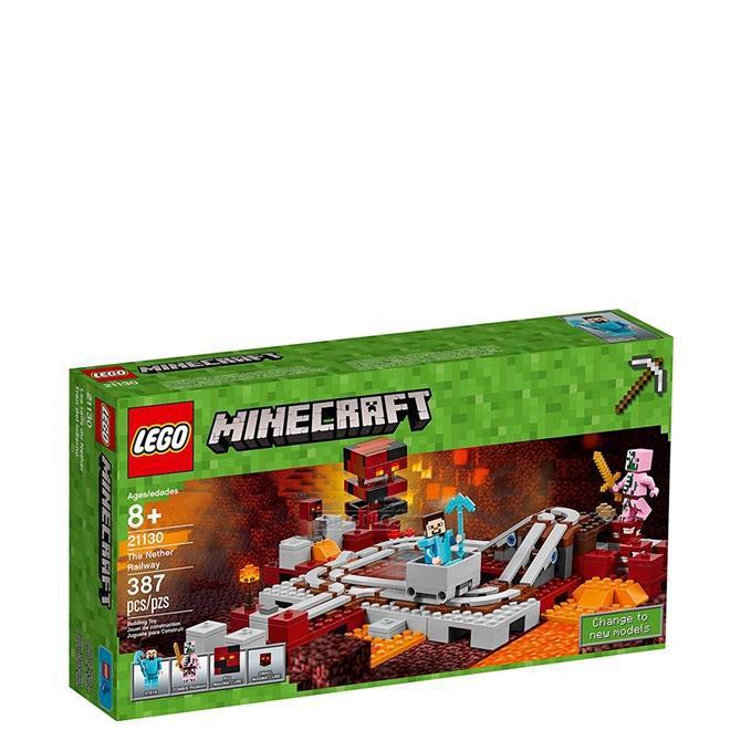 LEGO Minecraft - A Ferrovia de Nether 21130 - LEGO Produto não disponível b951f281ce